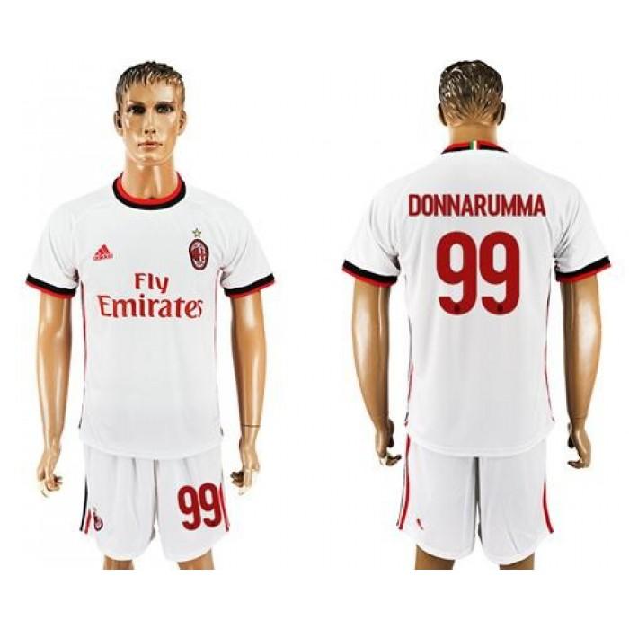 AC Milan #99 Donnarumma Away Soccer Club Jersey