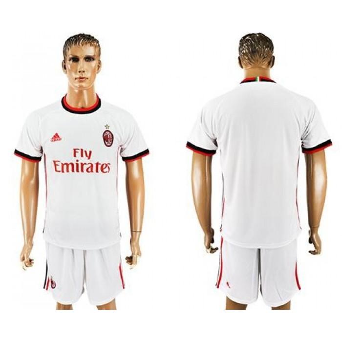AC Milan Blank Away Soccer Club Jersey