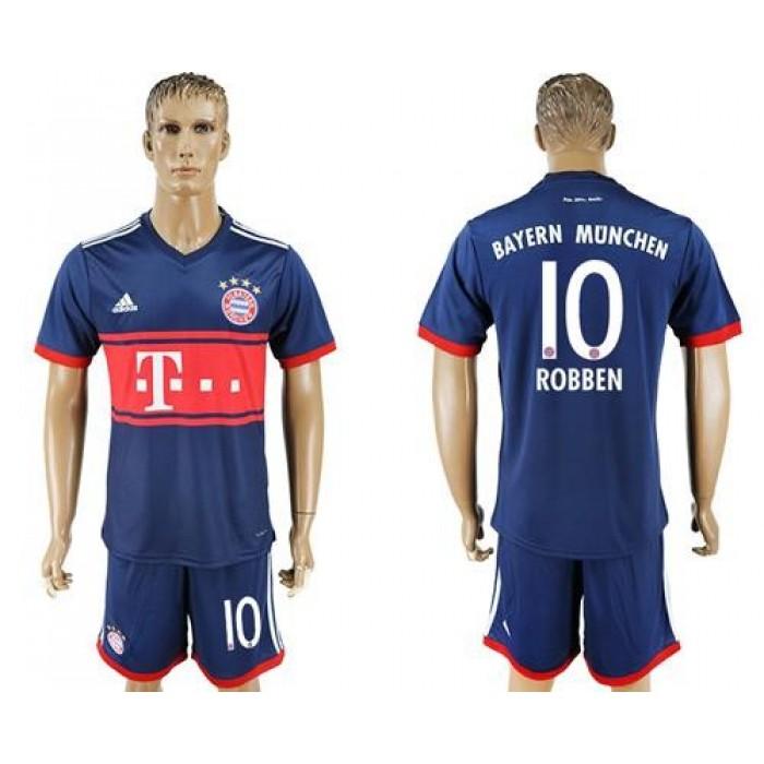 Bayern Munchen #10 Robben Away Soccer Club Jersey