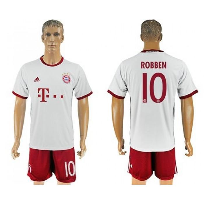 Bayern Munchen #10 Robben Sec Away Soccer Club Jersey