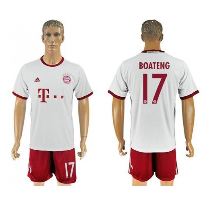 Bayern Munchen #17 Boateng Sec Away Soccer Club Jersey