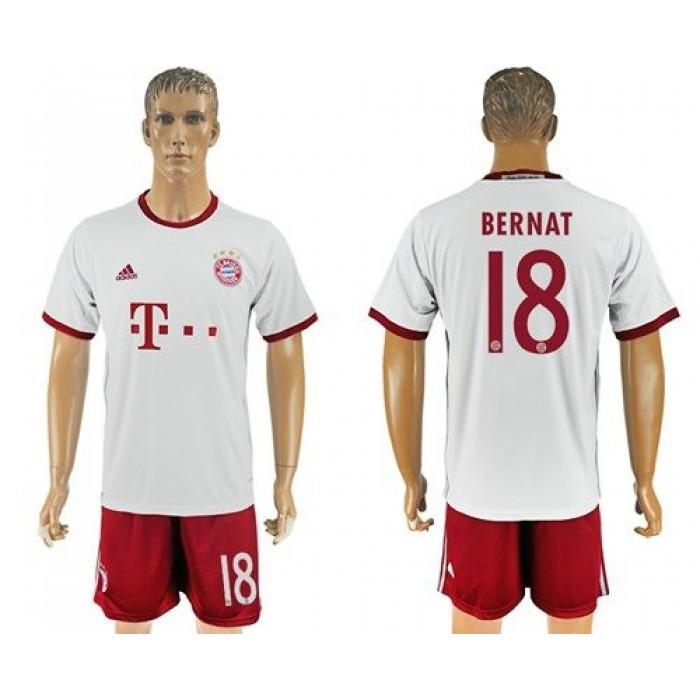 Bayern Munchen #18 Bernat Sec Away Soccer Club Jersey