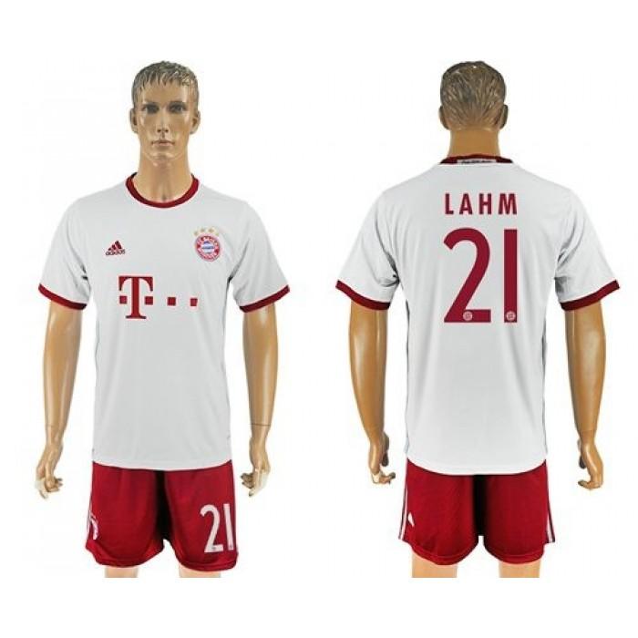 Bayern Munchen #24 Tolisso Sec Away Soccer Club Jersey