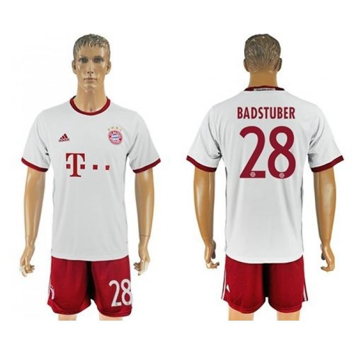 Bayern Munchen #30 Dorsch Sec Away Soccer Club Jersey