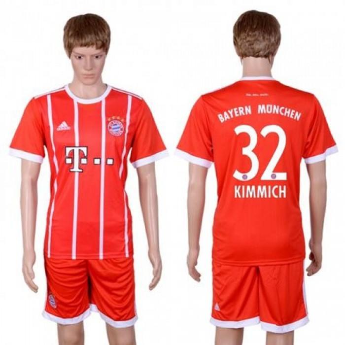 Bayern Munchen #32 Kimmich Home Soccer Club Jersey