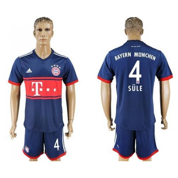 Bayern Munchen #4 Sule Away Soccer Club Jersey