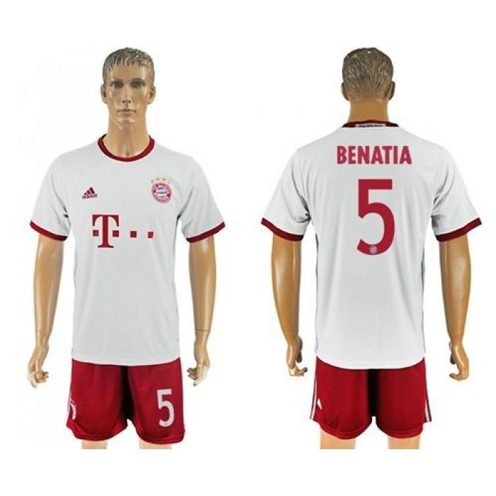 Bayern Munchen #4 Sule Sec Away Soccer Club Jersey
