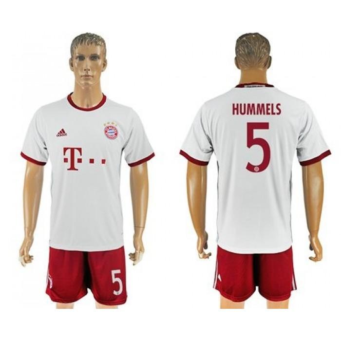 Bayern Munchen #5 Hummels Sec Away Soccer Club Jersey