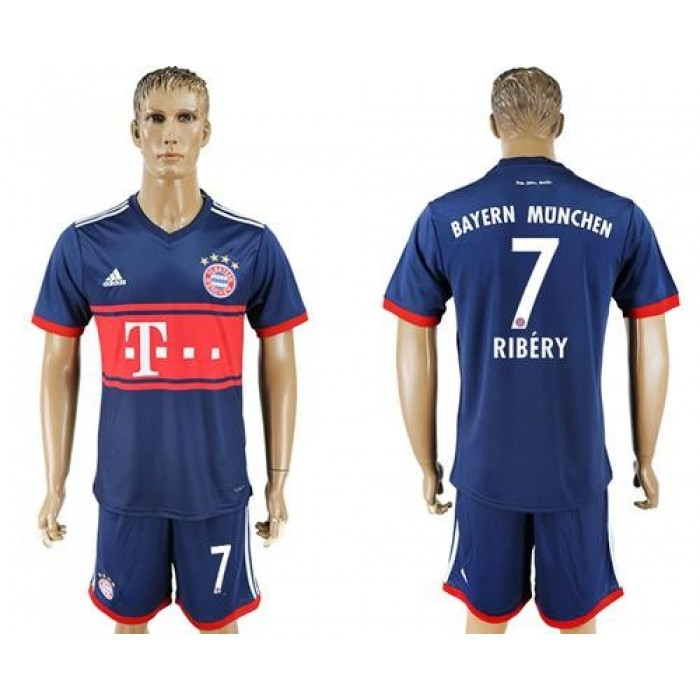 Bayern Munchen #7 Ribery Away Soccer Club Jersey