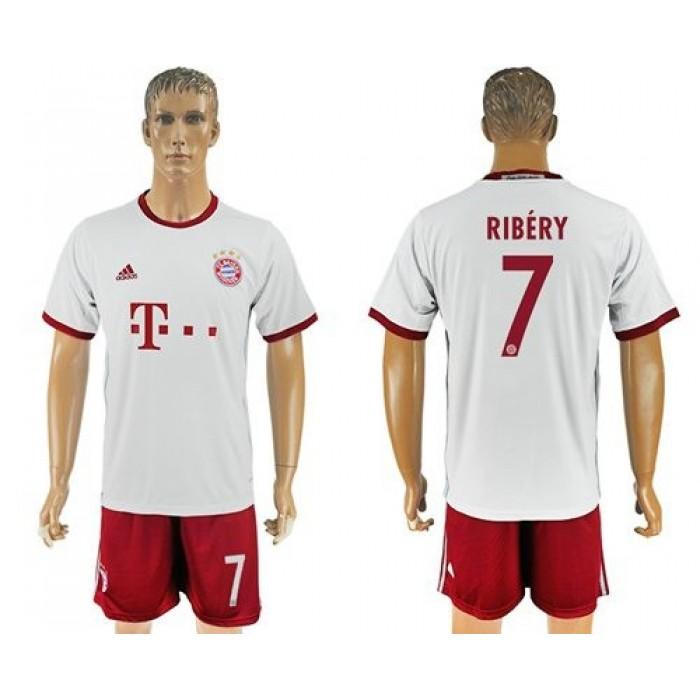 Bayern Munchen #7 Ribery Sec Away Soccer Club Jersey