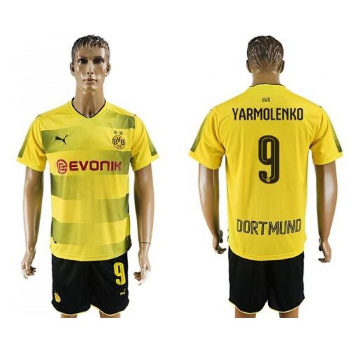 Bayern Munchen #9 Yarmolenko Home Soccer Club Jersey