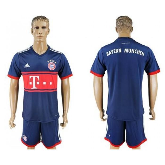 Bayern Munchen Blank Away Soccer Club Jersey