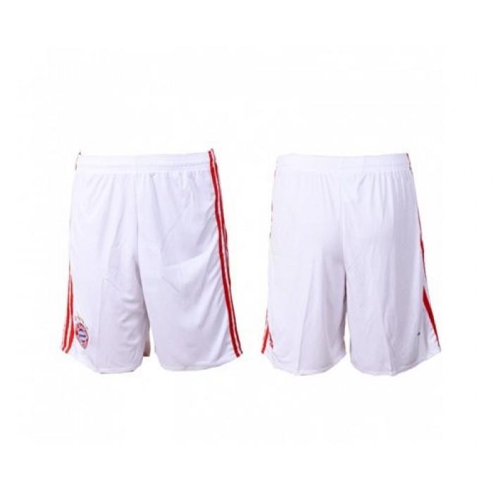 Bayern Munchen Blank Home Soccer Shorts Jersey