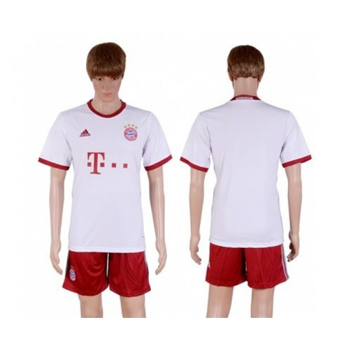 Bayern Munchen Blank Sec Away Soccer Club Jersey