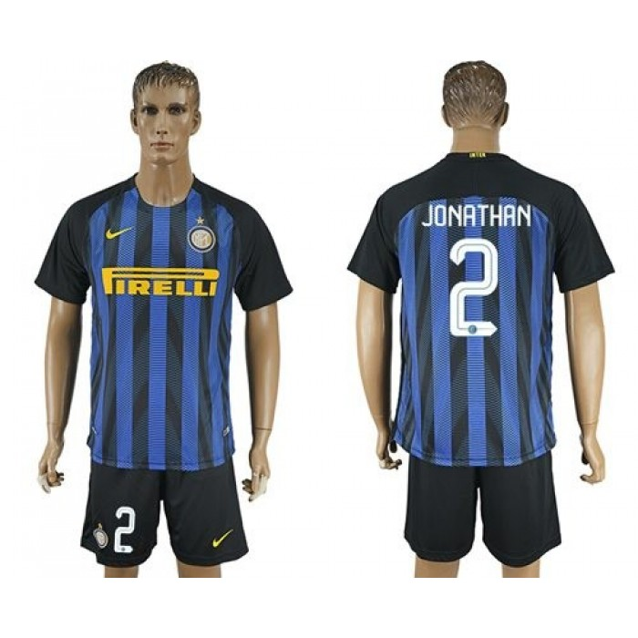Inter Milan #33 D'Ambrosio Home Soccer Club Jersey