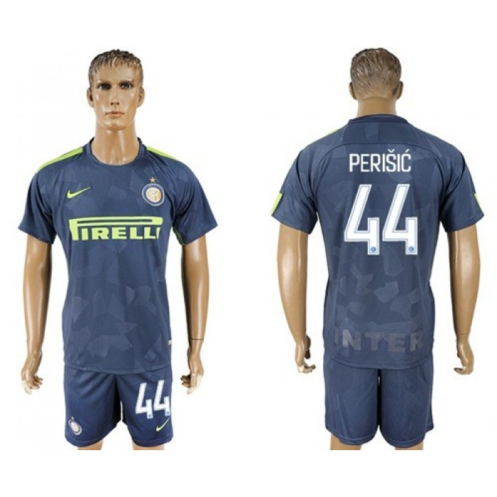 Inter Milan #44 Perisic Sec Away Soccer Club Jersey
