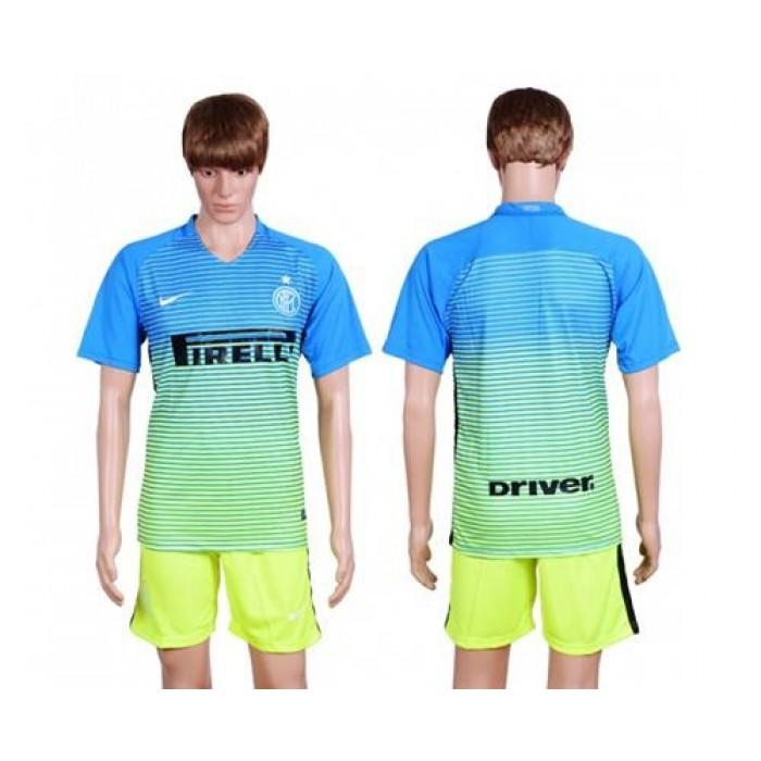 Inter Milan #87 Candreva Home Long Sleeves Soccer Club Jersey