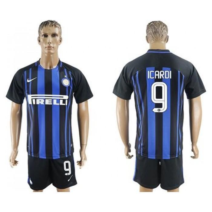 Inter Milan #9 Icardi Home Soccer Club Jersey
