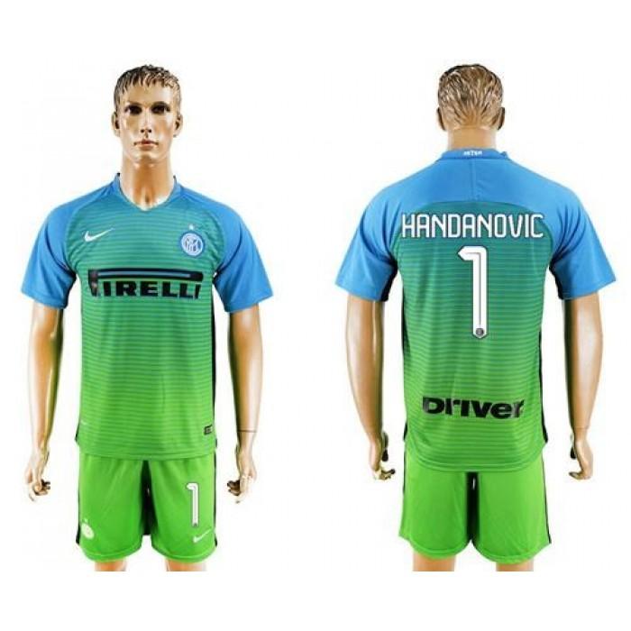 Inter Milan #96 Gabriel B. Home Long Sleeves Soccer Club Jersey