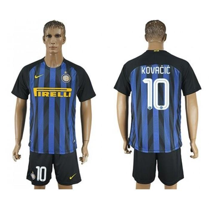 Inter Milan #96 Gabriel B. Home Soccer Club Jersey