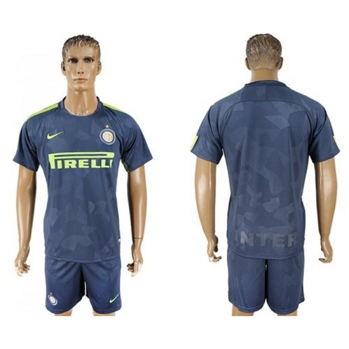 Inter Milan Blank Sec Away Soccer Club Jersey