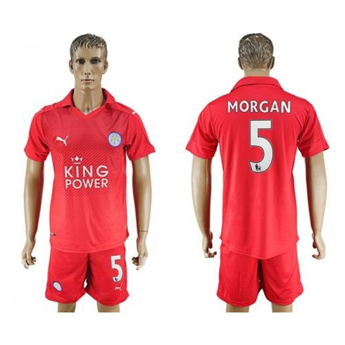 Leicester City #10 King Home Long Sleeves Soccer Club Jersey