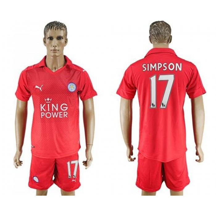 Leicester City #12 Hamer Home Long Sleeves Soccer Club Jersey