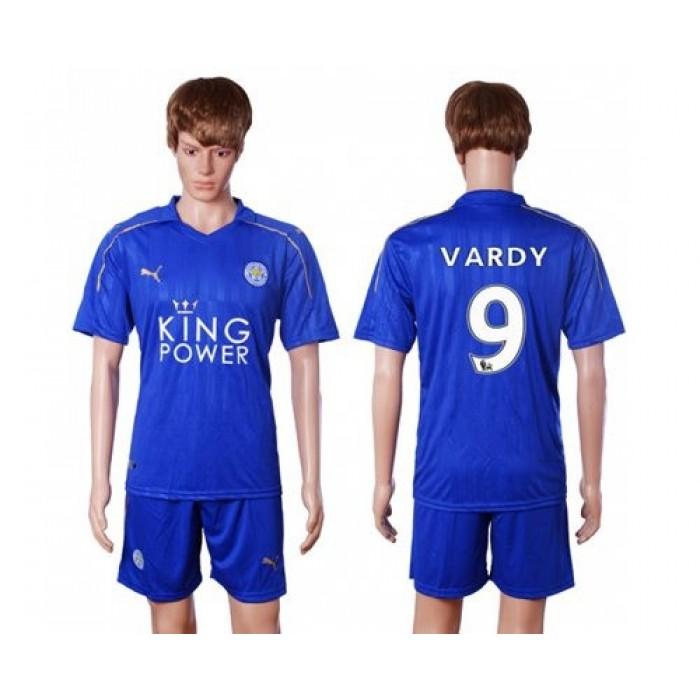 Leicester City #12 Hamer Light Blue Goalkeeper Long Sleeves Soccer Club Jersey