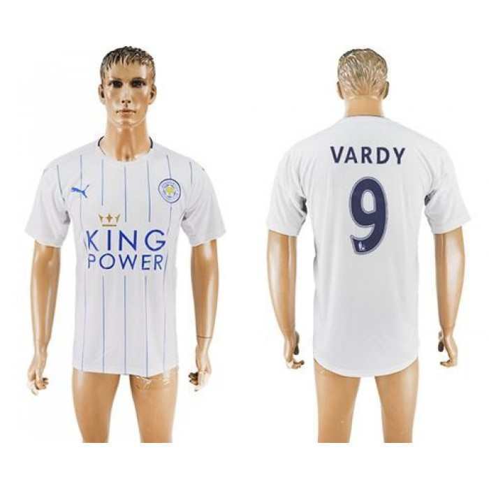 Leicester City #2 Simpson Home Long Sleeves Soccer Club Jersey