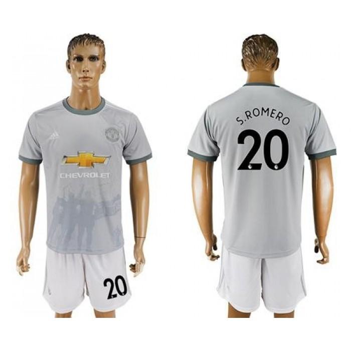 Manchester United #20 S.Romero Sec Away Soccer Club Jersey