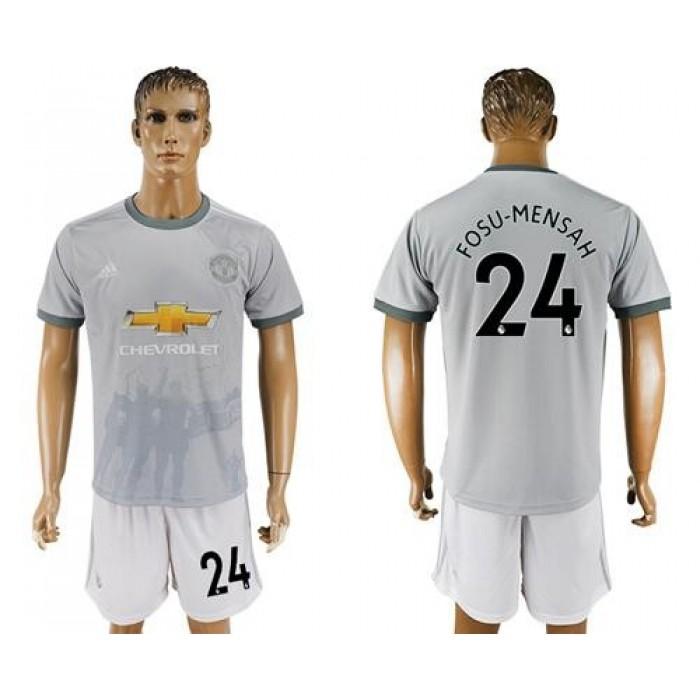 Manchester United #24 Fosu-Mensah Sec Away Soccer Club Jersey
