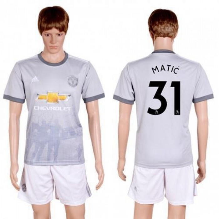 Manchester United #31 Matic Sec Away Soccer Club Jersey