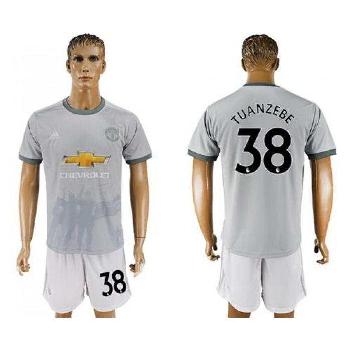 Manchester United #38 Tuanzebe Sec Away Soccer Club Jersey