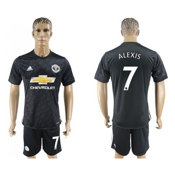 Manchester United #7 Alexis Away Soccer Club Jersey