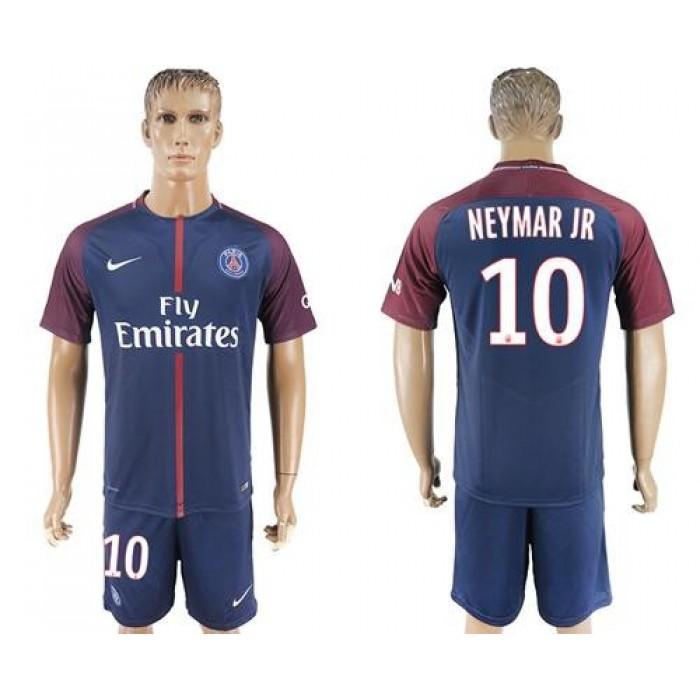 Paris Saint-Germain #10 Neymar Jr Home Soccer Club Jersey