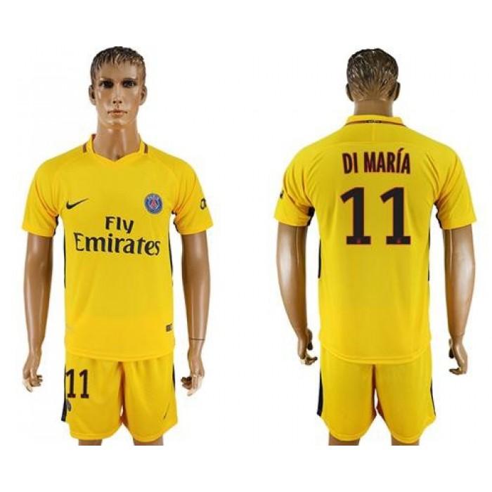 Paris Saint-Germain #11 Di Maria Away Soccer Club Jersey