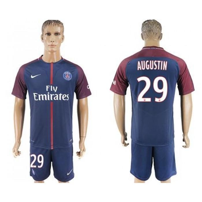 Paris Saint-Germain #29 Augustin Home Soccer Club Jersey