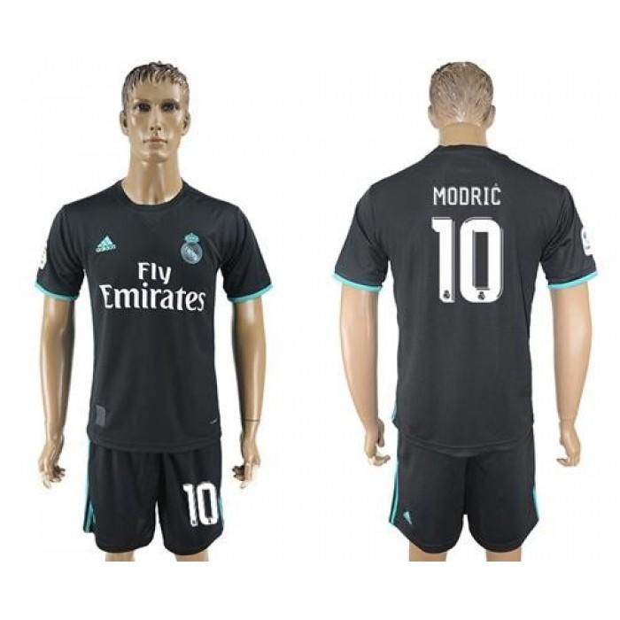 Real Madrid #10 Modric Away Soccer Club Jersey