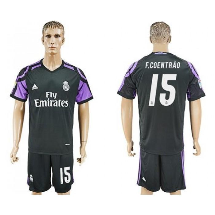Real Madrid #15 F.Coentrao Sec Away Soccer Club Jersey