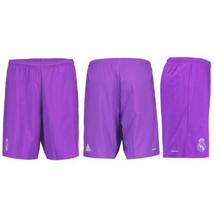 Real Madrid Blank Away Shorts Jersey