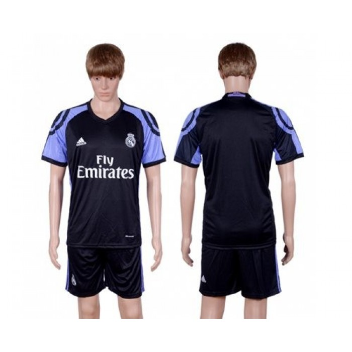 Real Madrid Blank Sec Away Soccer Club Jersey