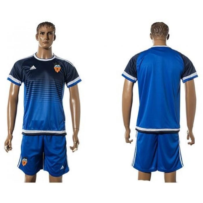 Valencia Blank Green Goalkeeper Soccer Club Jersey