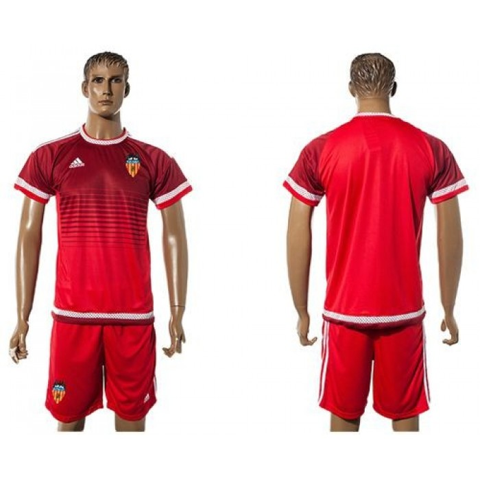 Valencia Blank Shiny Green Goalkeeper Soccer Club Jersey